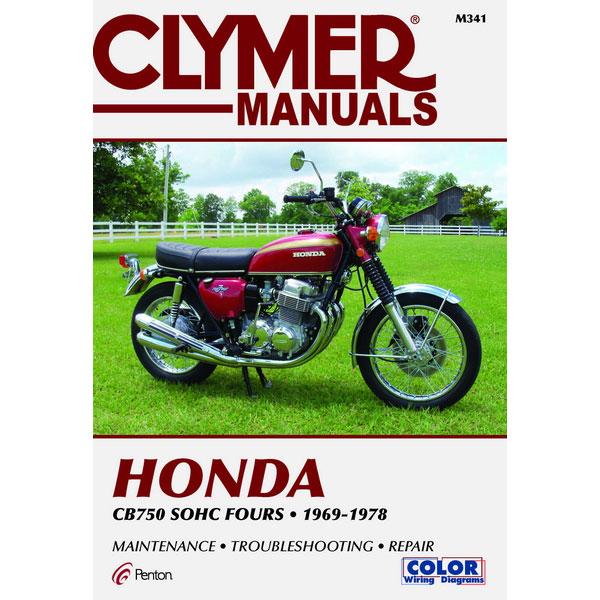 clymer honda cb750 sohc fours 69-78 service manual