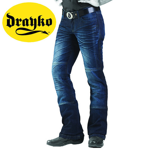 DRAYKO DRIFT RIDING JEANS LADIES SZ 6