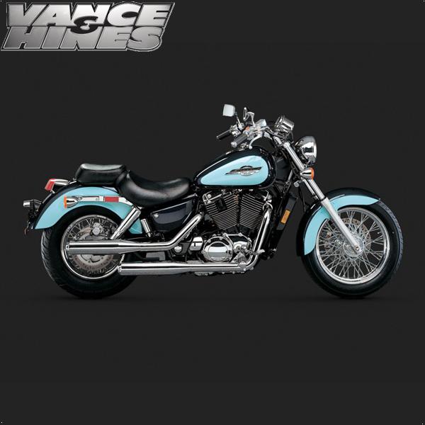 Vance Hines Classic Bagg Dual Exhaust Honda Shadow Ace 1100 95 99