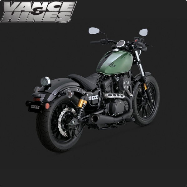 Vance & Hines Competition Series Slip-On Exhaust Yamaha Bolt 14-15