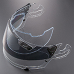 Arai Vector 2 Hawk Pro Shade System Compatible