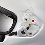 Arai Corsair-X Nicky-7 VAS Shield Mechanism