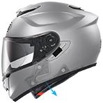 Shoei GT-Air Pendulum Helmet Emergency Quick Release System (E.Q.R.S)