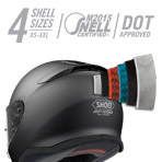 Shoei RF-1200 Vessel Helmet Multi-Ply Matrix AIM+ Shell