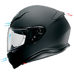 Shoei RF-1200 Vessel Helmet Ventilation