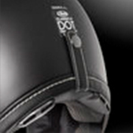Arai Classic-V Solid Button Closure Goggle Strap Holder