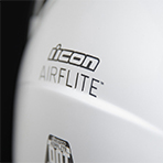 Icon Airflite Freedom Spitter Helmet Exterior