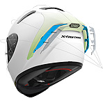 Shoei X-14 Solid Helmet Aerodynamics