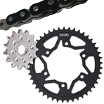 Vortex WSS Chain and Sprocket Kit
