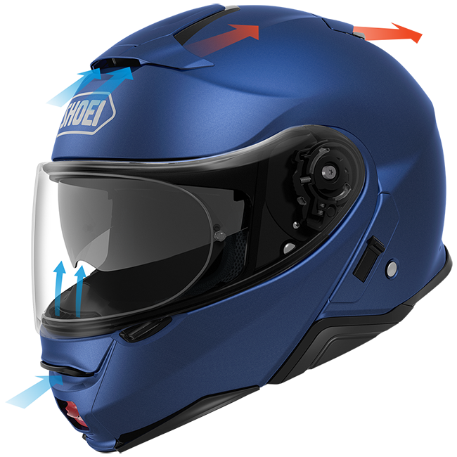 Shoei Neotec II Ventilation Performance