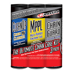 Maxima Synthetic Chain Guard Care Combo Kit
