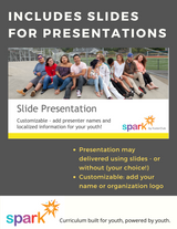 Includes slides for presentations