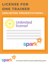 Includes one license for one peer leader/trainer