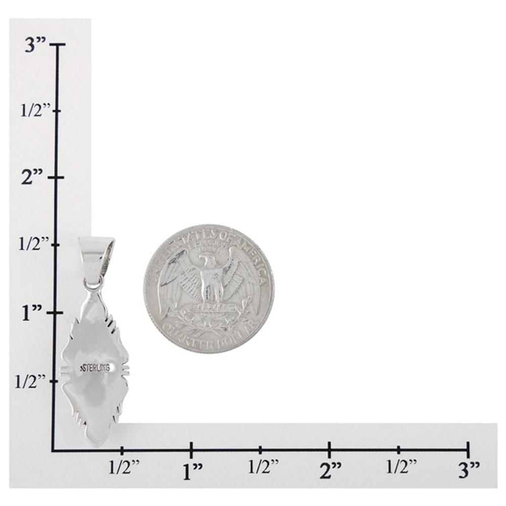 Sterling Silver Pendant Multi Gemstone P3097-C01