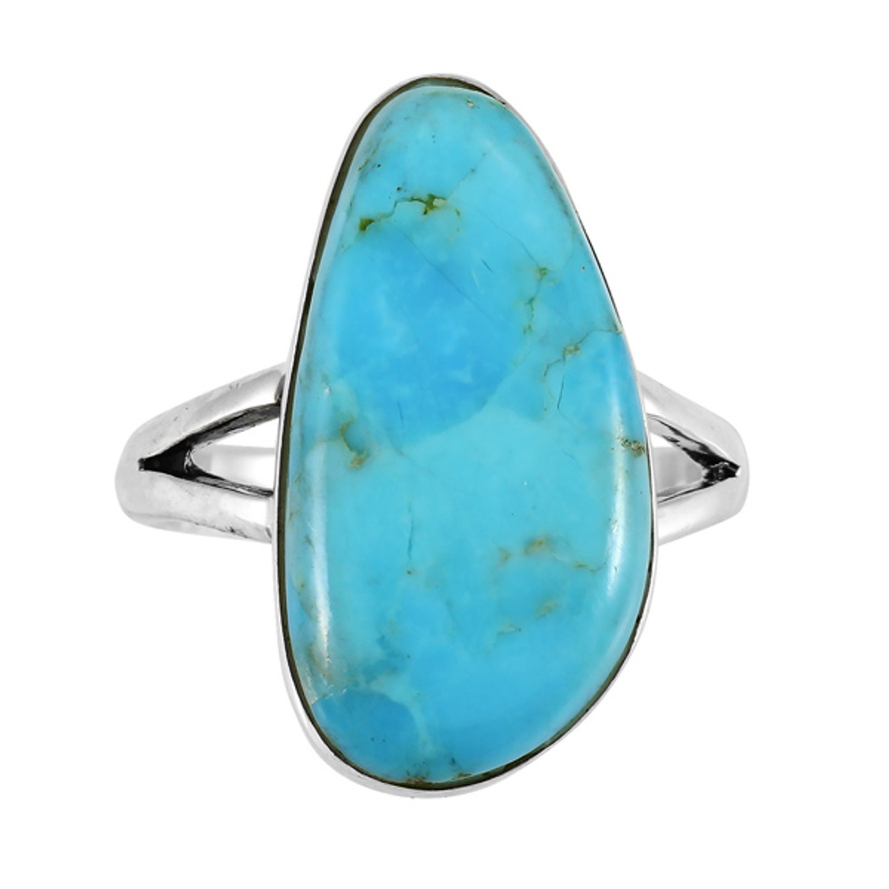 Turquoise Ring Sterling Silver R2027-C75