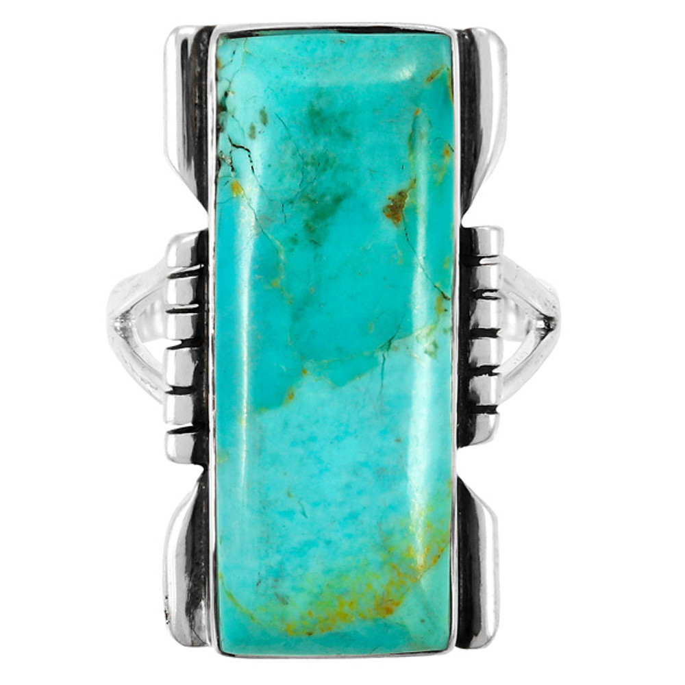 Turquoise Ring Sterling Silver R2017-C75