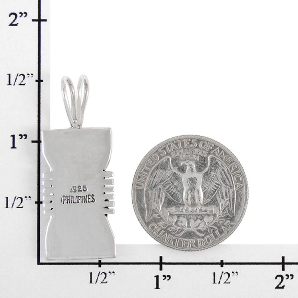 Sterling Silver Pendant Multi Gemstone P3044-LG-C00