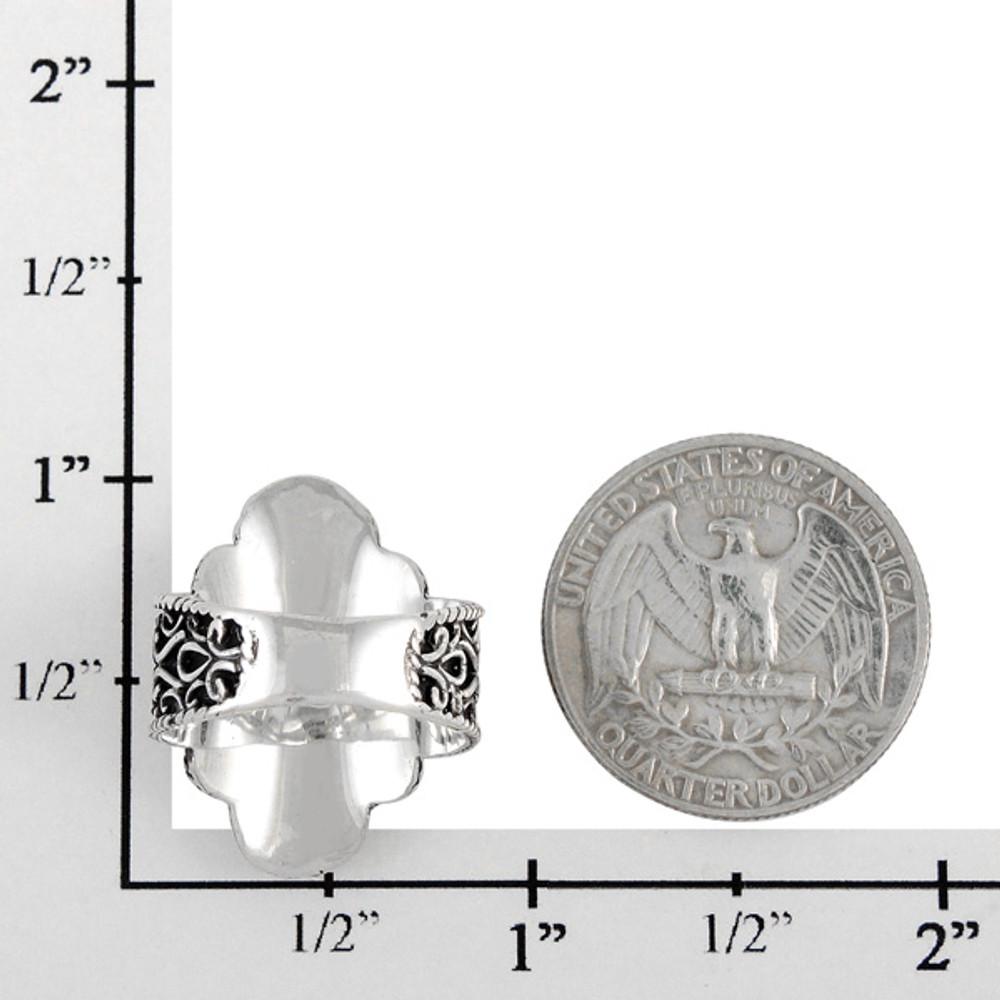 Multi Gemstone Ring Sterling Silver R2416-C71