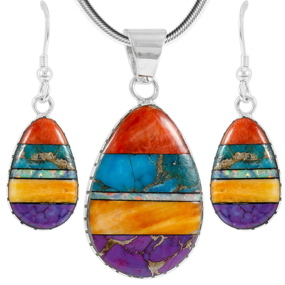 Several great gemstones to choose from Set of 2 Gemstone Pendants