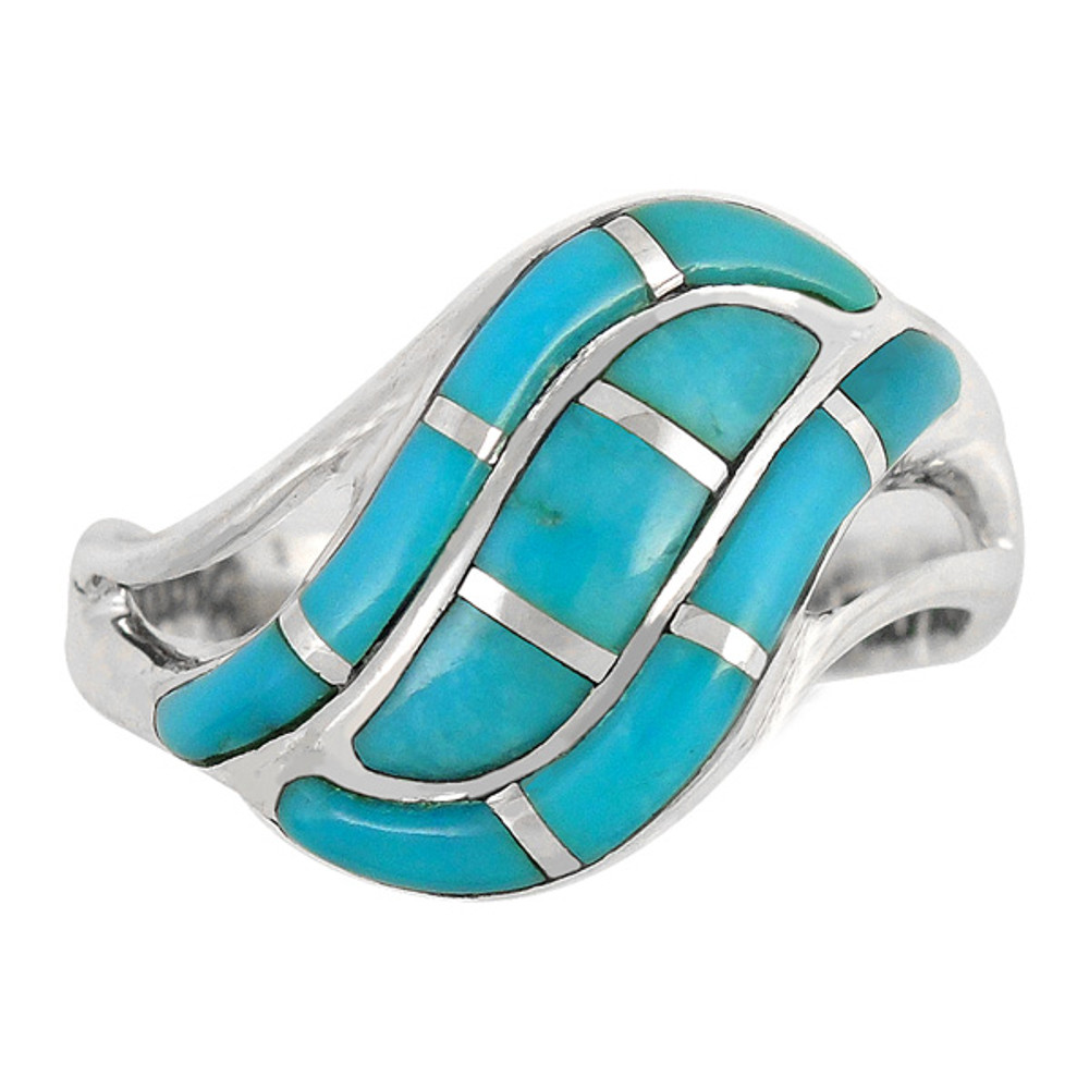 Turquoise Ring Sterling Silver R2003-C05