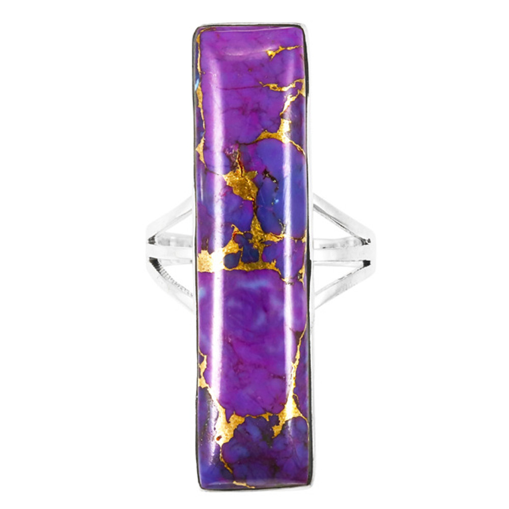 Purple Turquoise Ring Sterling Silver R2456-C77