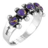 Purple Turquoise Ring Sterling Silver R2241-C77