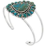 Matrix Turquoise Bracelet Sterling Silver B5503-C84