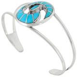 Turquoise Bracelet Sterling Silver B5505-C05