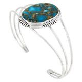 Matrix Turquoise Bracelet Sterling Silver B5531-C84