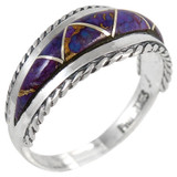 Purple Turquoise Ring Sterling Silver R2285-C07