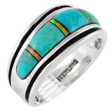 Sterling Silver Ring Turquoise R2024-C21