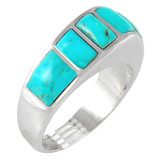 Turquoise Ring Sterling Silver R2001-C75