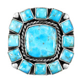 Turquoise Ring Sterling Silver R2458-C75