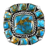Matrix Turquoise Ring Sterling Silver R2458-C84