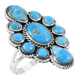 Turquoise Ring Sterling Silver R2464-C75