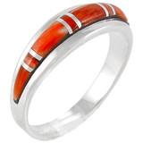 Spiny Oyster Ring Sterling Silver R2264-C08