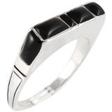 Black Shell Ring Sterling Silver R2067-C11