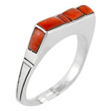 Spiny Oyster Ring Sterling Silver R2067-C78