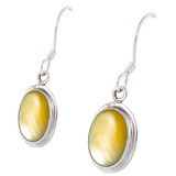 Mother of Pearl Earrings Sterling Silver E1139-C99