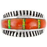 Spiny Oyster Ring Sterling Silver R2267-C24