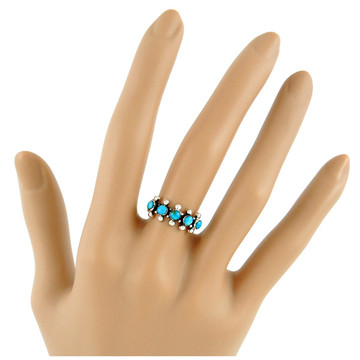 Turquoise Ring Sterling Silver R2241-C75