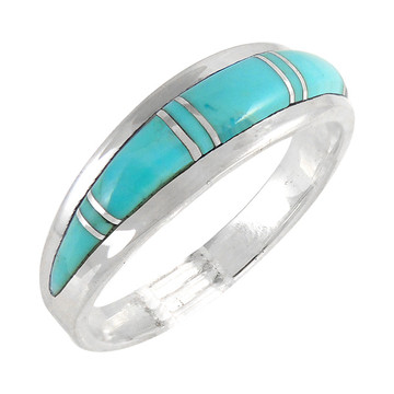 Turquoise Ring Sterling Silver R2264-C05