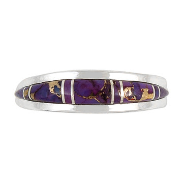Purple Turquoise Ring Sterling Silver R2264-C07