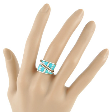 Turquoise Ring Sterling Silver R2011-C05