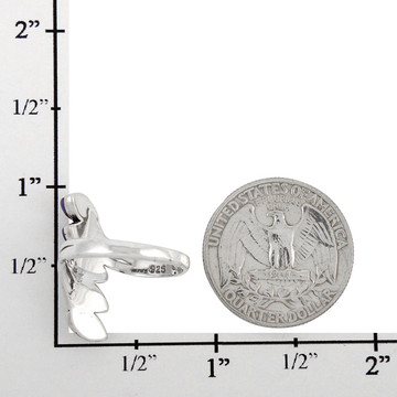 Multi Gemstone Ring Sterling Silver R2420-C71