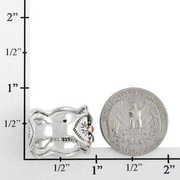 Multi Gemstone Ring Sterling Silver R2433-C71