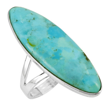 Turquoise Ring Sterling Silver R2440-C75