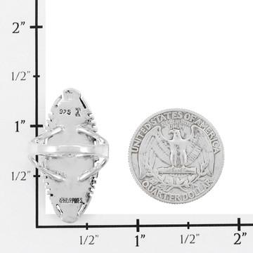 Multi Gemstone Ring Sterling Silver R2468-C71