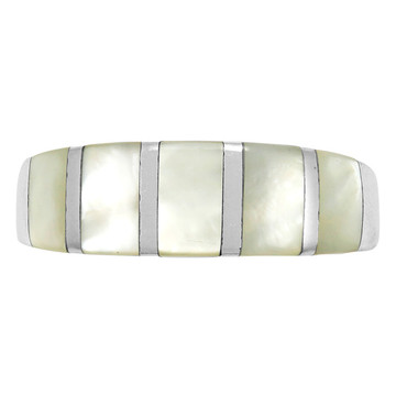 Mother-of-Pearl Ring Sterling Silver R2465-C12
