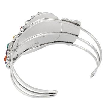Multi Gemstone Bracelet Sterling Silver B5444-C71